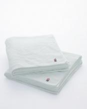 ホワイト バスタオル2枚○TYN02/TYN02