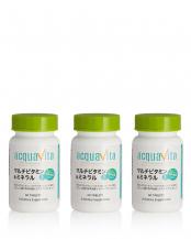 マルチビタミン&ミネラル+64種の野草発酵エキス(60粒/1ヵ月分)×3○C1