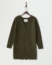 Olive●Long Knit Cardigan○PD100