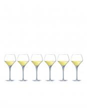 オープンナップ ラウンド 370(白ワイン用) 6客セット○U1010