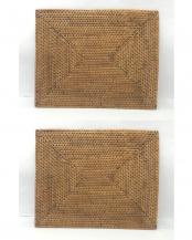 アタ 長角ランチョンマット 30×40cm 2P○A-1