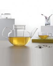 *TEA(RELAX)ガラス製フィルター付きティーポット 1400mL○120148