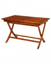 チーク材テーブル 120×70×73.5cm○RT-1594TK