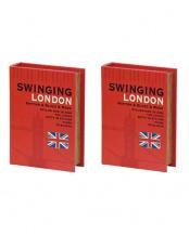 LONDON●ブックボックス 2個セット○40-4008105-00
