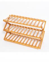 竹製折りたたみマルチラック○EF-BA03