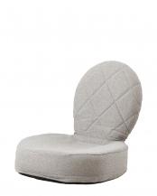 ベージュ●ラグス 折りたたみ式座椅子○IKC-03-BE