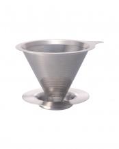 ダブルメッシュメタルドリッパー 1~4杯用○DMD-02-HSV