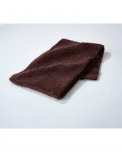 チョコレートブラウン●世界3大コットン「スーピマコットン」使用 バスタオル 5枚セット○EF-TW01bx5