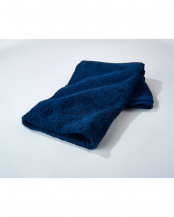 ネイビー●世界3大コットン「スーピマコットン」使用 バスタオル 5枚セット○EF-TW01bx5