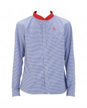 BLUE●ドライリブカラーシャツ○183-00010