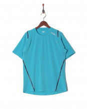 GRN/SIL●MENS STRETCH AIRFLOW S/S○MR5998A