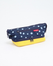 COSMETIC BAG S SPOTS NAVY/YE○39207500