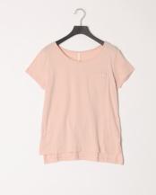 ピンク●オーガニックコットン半袖T○0000555018