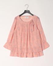 12/赤系C(ピンク)●シフォンチュニック○23180101