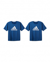 ネービーブルー●Tシャツ 2点セット○APU013A×2