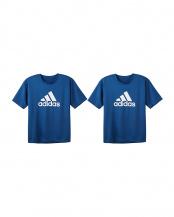 ネービーブルー●Tシャツ×2点SET○APU013A/APU013A