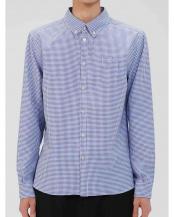 BLUE●ドライポケットシャツ○183-99910