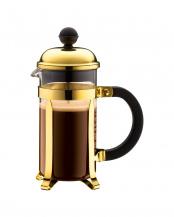 ゴールド●シャンボール フレンチプレスコーヒーメーカー350mL○1923-17