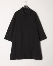BLACK●N/Cタッサーオーバーサイズコート○5165401