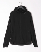 BLK/BLK●MENS STRETCH WOVEN HOODED○MR6000A