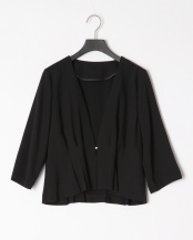 ブラック●裾タックジャケット○729322