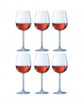 ウノローグ エキスパート ワイングラス 450 6点セット○U0911