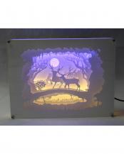 3Dペーパーアート LED付 B○19371