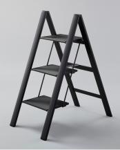 ブラック●SLIM STEP○SJ-3d(BK)