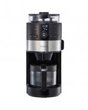 シルバー●[箱破損]siroca コーン式コーヒーメーカー SC-C111○SC-C111