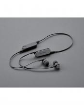 スモークブラック●「Bluetooth イヤホン」  FASTMUSIC/bund/リモコンマイク付き○LBT-HPC14MP