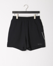 BLK/BLK●STRETCH CROSS 5INCH SHORT○MR6130B