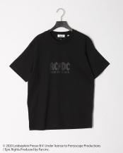 ブラック●CYA Collaboration with AC/DC ROCK T-SHIRT○CYA18U0106
