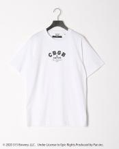 ホワイト●CYA Collaboration with CBGB ROCK T-SHIRT○CYA18U0107