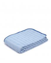 ブルー●抗菌防臭加工なか綿入り敷パット○NR420-100