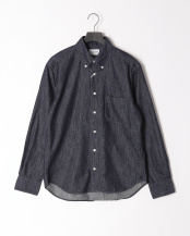ONE WASH●6oz DENIMBASIC BDシャツ○BASIC-MK-022