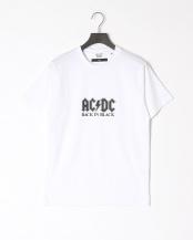 ホワイト●CYA Collaboration with AC/DC ROCK T-SHIRT2○CYA18U0117