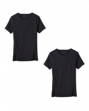 ブラック●Tシャツ×2セット○ASX113A×2