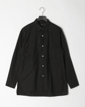 BLACK●タイプライタービッグポケットシャツ○5156513