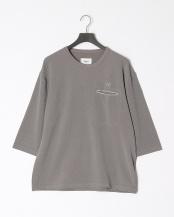 GRAY●WJ8分Tシャツ○8191-01310