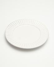 古白化粧 面取パン皿○4965089384655