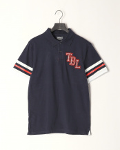 Dark Sapphire●AF SS 3D Decorated Polo○TB0A1NFX4331