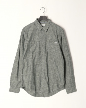 Darkest Spruce●AF TFO LS Merrimack River Chambray Shirt (Regular)○TB0A1NJBE201