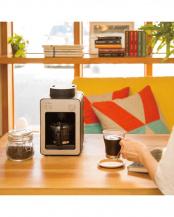 シルバー●[箱破損]siroca 全自動コーヒーメーカー カフェばこ SC-A351(S)○SC-A351(S)