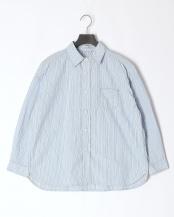 サックス●ワイドワークシャツ○56-858X