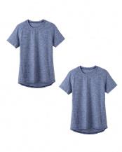 ジーンズブルー●Tシャツ×2点セット○ASX013A×2