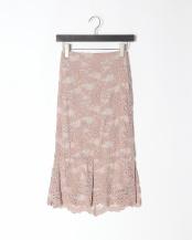 ピンク●レーススカート○02-1870