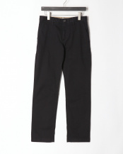 Black●AF TFO SQUAM LAKE MIDWEIGHT STRAIGHT STRETCH TWILL CHINO PANT○TB0A1VUA0011