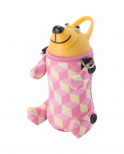 Cubes Pink●ALF Animal Bottle○5155ALF