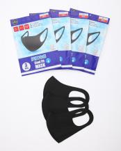 ブラック●クールフィットマスク 同色12枚組○クールフィットマスク 同色12枚組