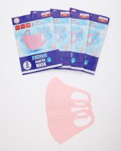 ピンク●クールフィットマスク 同色12枚組○クールフィットマスク 同色12枚組